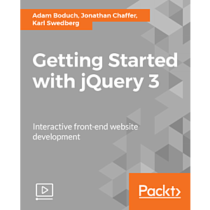 Getting Started with jQuery 3 [Video]