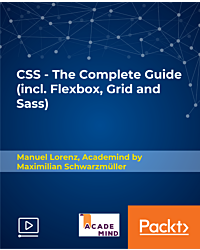 CSS - The Complete Guide (incl. Flexbox, Grid and Sass) [Video]