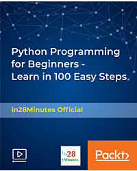 Python Programming for Beginners - Learn in 100 Easy Steps [Video]