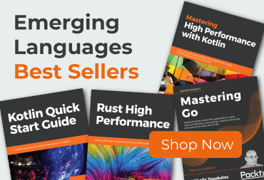 Packt Emerging Languages Best Sellers